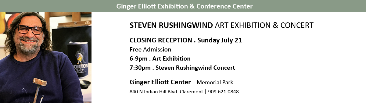 Steven Rushingwind Exhibition and Concert