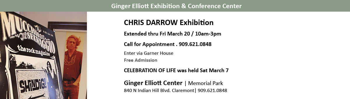 Chris Darrow Exhibition March 2020