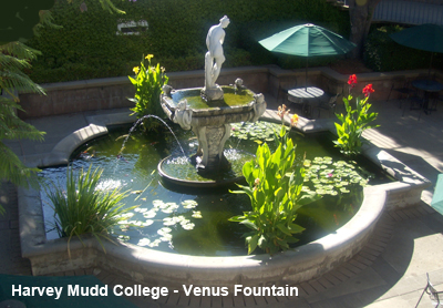 Venus Fountain at Harvey Mudd photo