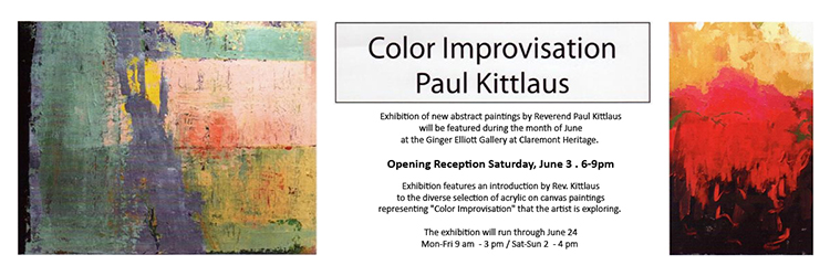 Rev. Paul Kittlaus Exhibition