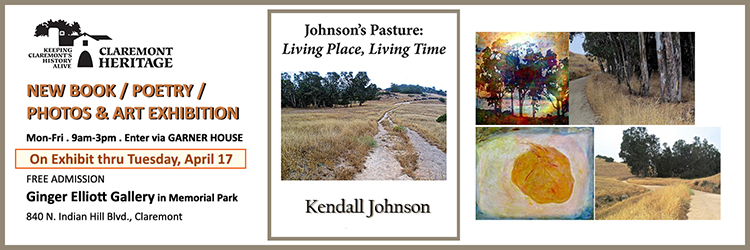 Kendall Johnson Book and Art Exhibition April 7 2018