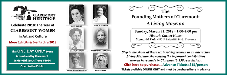 Living Museum Founding Mothers of Claremont