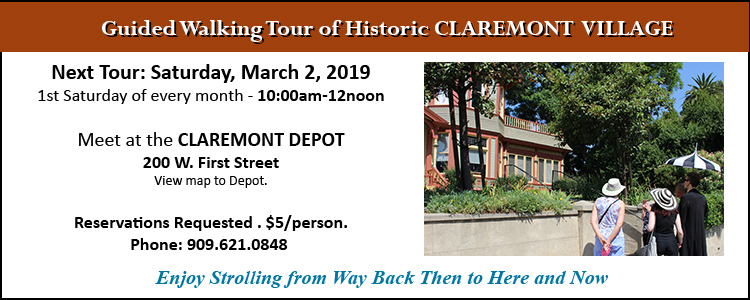 Claremont Village Tour